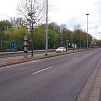 fester Blitzer Saarbrücken, Lebacher Landstraße B 268 Richtung A 1 stadtrauswärts