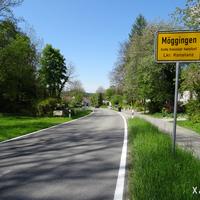 Ortseinfahrt aus Liggeringen kommend.