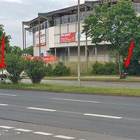 Blitzer auf dem Berliner Ring, in beiden Richtungen, höhe VFL Stadion. 50 kmh. Die beiden Vitronic Anlagen aus Wolfsburg auf Stativ.