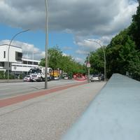 Richtung Horn vor der Autobahnbrücke