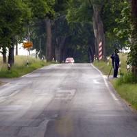 Ortsausgang, Richtung Jesendorf