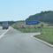 Blitzer auf der A 39 an der Abfahrt WF Cremlingen. Richtung Wolfsburg, 80 kmh. Blauer VW T5 (BS-AE-913) steht in der Nähe.