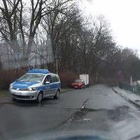 Polizei lasert aus dem PKW heraus