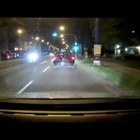 Blitzer Aus sicht des Fahrers