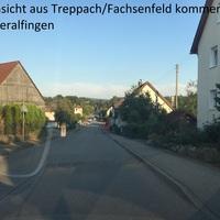 OD von Affalterried aus Treppach kommend, Rtg. Wasseralfingen, (könnte beidseitig gewesen sein). Blitzer steht auf Privatgrundstück.