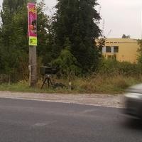 50km/h-Geschwindigkeitskontrolle in der Kasseler Straße, Eisenach in Richtung Karlskuppe/B19.