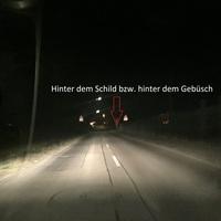 Blitzer steht kurz vor der Ortsausfahrt Richtung B19 Unterkochen/Oberkochen/Heidenheim hinter dem Gebüsch (Blitzer steht NUR auf der rechten Seite, geblitzt werden beide Spuren) (beiger Mercedes Vito)