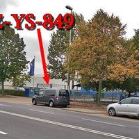Wie eh und jeh auf der Hansestraße, stadtauswärts. Bei der Spedition Schnellecke, auf der rechten Seite auf dem Parkstreifen. Richtung A 2 / GF-Walle. Grauer VW Caddy Maxi (SZ-YS-849). 50 kmh.