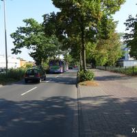 Hier wird regelmäßig kontrolliert; wir kommen vom Coesfelder Kreuz und fahren Richtung Norden.