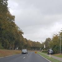 Grauer VW Caddy, Richtung Meppen, beim DRK.