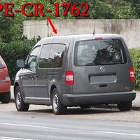 Blitzer in Salzgitter Lebenstedt, auf der Kattowitzer Straße, stadtauswärts. Zwischen der HEM-Tankstelle und dem Krankenhaus, nach den Müllcontainern, rechte Seite in der Parkbucht. Grauer VW Caddy Maxi (PE-CR-1762). 50 kmh.