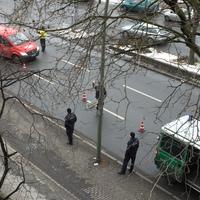 Kontrolle Blücherstraße kurz vor dem Mehringdamm