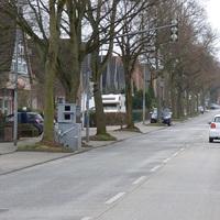 Blick von Stockelsdorf / Cleverbrück / Bad Schwartau kommend ...