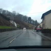 Anfahrt aus Richtung Primstal
