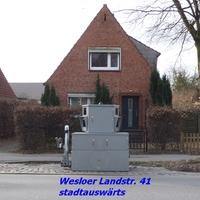 Von Lübeck City kommend in Rtg. Schlutup / Meck.-Pom fahrend...