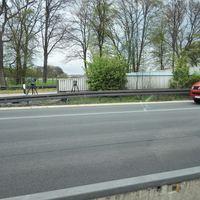Z.Zt. Gesperrter Parkplatz Paschheide. Hannover Richtung Dortmund