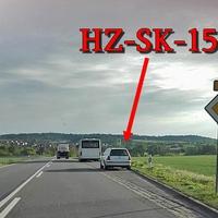 Blitzer auf der B 81 von Hasselfelde, Richtung Blankenburg. An der Haltestelle nähe dem Abzweig Wienrode. Weißer VW Golf 4 Variant (HZ-SK-15). 70 kmh.