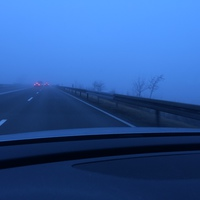 Bei schönstem Nebel.