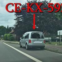 Blitzer in Eicklingen an der Bushaltestelle, kurz vor der HEM-Tankstelle, in Richtung Braunschweig. Silberner VW Caddy (CE-KX-592). 50 kmh.