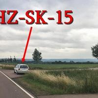 Blitzer auf der Ortsumgehung Quedlinburg, Richtung Gernrode, ca 600m vor dem Kreisverkehr. 100 kmh. Weißer VW Golf 4 Variant (HZ-SK-15).