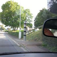 Richtung Zentrum Dehrn, Ahlbacher Weg; von B54 und L3063 kommend