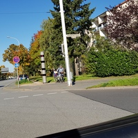 Poliscan B3 Stadteinwärts