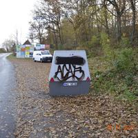 Enforcement-Trailer, aus Schwerin kommend