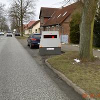 Ortseingang, aus Neustadt-Glewe kommend