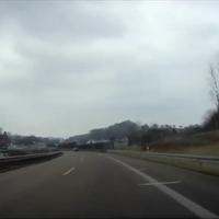Im Kurvenbereich bei Ebersbach