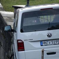Nahansicht des Wagens mit Blick auf das im Heck versteckte Messgerät
