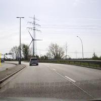 Fahrtrichtung A7 Anschlussstelle Hamburg-Waltershof