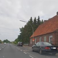 Lingen Haselünnerstraße kurz vor Ortsausgang