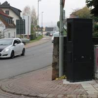 Fester Blitzer 30 km/h in Fahrtrichtung Altenstadt/ Bleichenbach