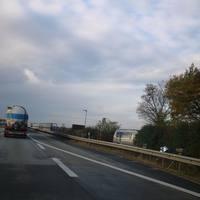 A61 vor der Moseltalbrücke FR Ludwigshafen.