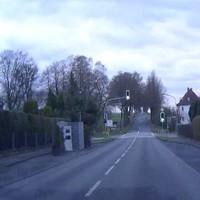 Blitzer in Rothwesten Fahrtrichtung 184°