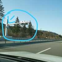 Fahrtrichtung Bern nach Thun