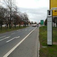 Rotlichtkontrolle, Fahrtrichtung Pirnaischer Platz kurz nach Fußgängerampel Lingnerallee