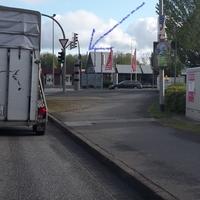4 neue Blitzer in 25746 Heide Kreuzung Hamburger Straße / Fritz-Thiedemann-Ring.  Ampelblitzer und Tempo Blitzer.