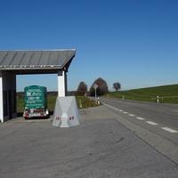 Ruckwartsansicht in Richtung Holzkirchen