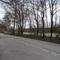 Blick aus seitenstrasse/radweg