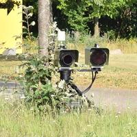 abgesetzte Kamera, stadteinwärts