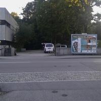 Übersicht. Links richtung Friedhof/Sudetenstrasse Rechts Schulzentrum/Stadtmitte