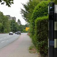 stationärer Trafficstar s350, Radbodstr. Hamm, Höhe Westfalenschleife, 50km/h FR Süden