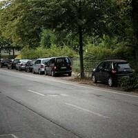 wurde gerade abgebaut / abgeschraubt. Fahrzeug fuhr unmittelbar nach den Aufnahmen los Messfahrzeug: VW Caddy, dunkelblau, HH CJ 2982