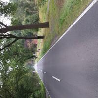 in Allerdorf Richtung Posthausen, beide Fahrtrichtungen
