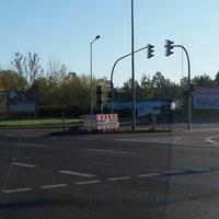 Schwerin, Kreuzung B321/Karl-Marx-Allee und L72/Ludwigsluster Chaussee