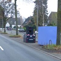 Anfahransicht auf der 2. Spur in Rtg. Zwinglistrasse / Roeckstrasse / Marli