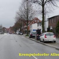 Anfahransicht Krempelsdorfer Allee 58 weiter nach Stodorf / Bad Segeberg / Ahrensbök