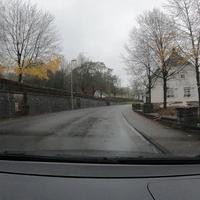 Blitzer kurz vor dem Ortsausgang Unglinghausen in FR Kredenbach. Messwagen war ein blauer Caddy, man war hier schon mit dem Abbau beschäftigt.  Als Messgerät diente ein mobiles Traffistar S350.