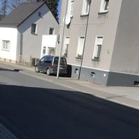 Grauer Caddy der Stadt Leverkusen. Messgerät: Traffistar S350